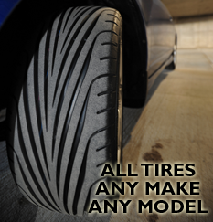 We do tires ...